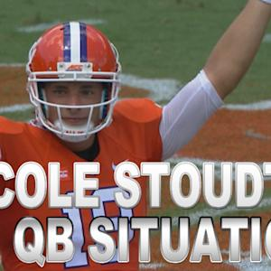 Cole Stoudt Dismisses Talk of Clemson QB Controversy
