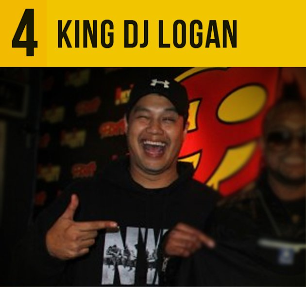 4.King DJ Logan