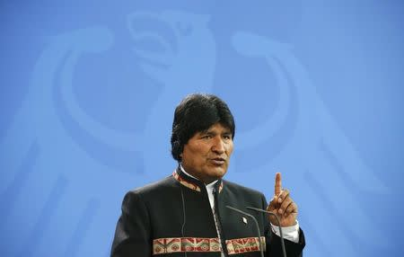 Bolivia's Morales, once leftist climate pact foe, turns pragmatic