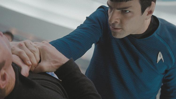 Star Trek Production Stills 2009 Paramount Pictures Zachary Quinto Clone