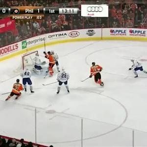 Toronto Maple Leafs at Philadelphia Flyers - 01/31/2015