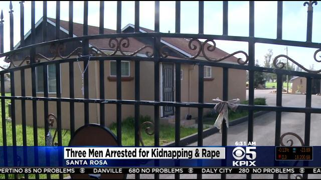 3 arrested after woman imprisoned, sexually abused for weeks