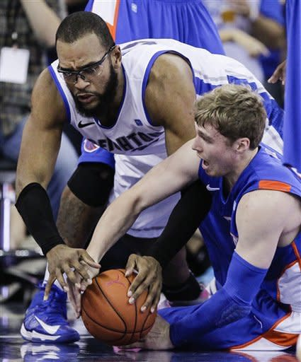 Marks' 35 keys Boise St. upset of No. 11 Creighton