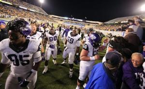 TCU edges No. 23 WVU in 2 OTs on 2-pt conversion