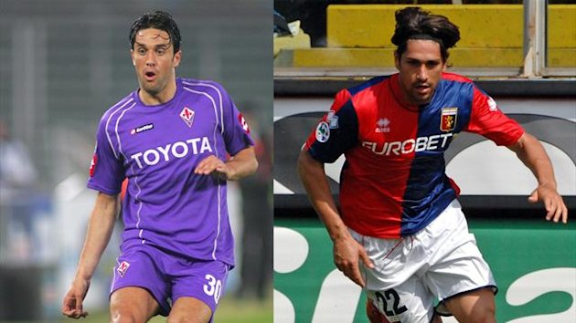 Luca Toni Marco Borriello AP/LaPresse