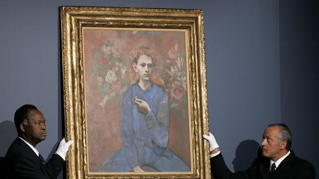 """Boy with a Pipe"" by Pablo Picasso, sold for $104.2 million in 2004."