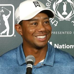 Tiger Woods news conference before the Memorial