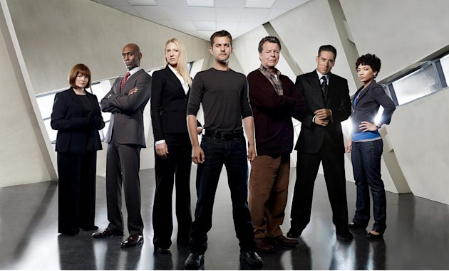 The cast of the Fox series Fringe 