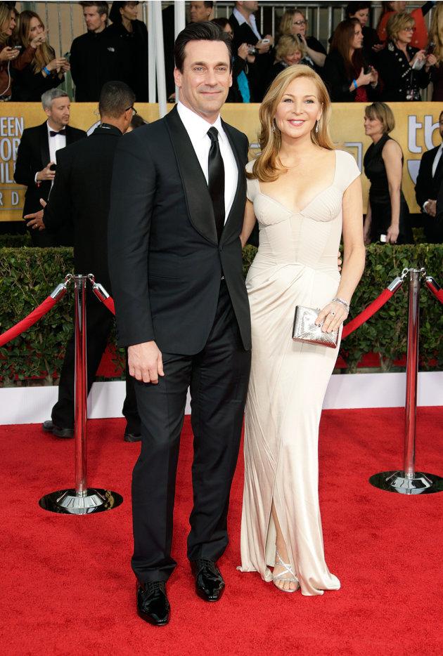 Jon Hamm and Jennifer Wes…