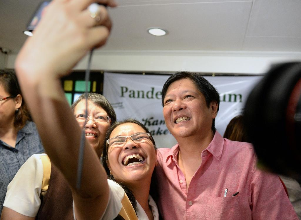 Philippine dictator's son says father's legacy will help poll bid