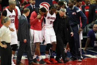DeMarre Carroll listed as day-to-day after MRI shows no structural damage on knee