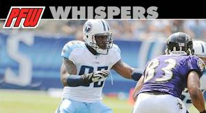 Witherspoon hurting Titans' pass defense