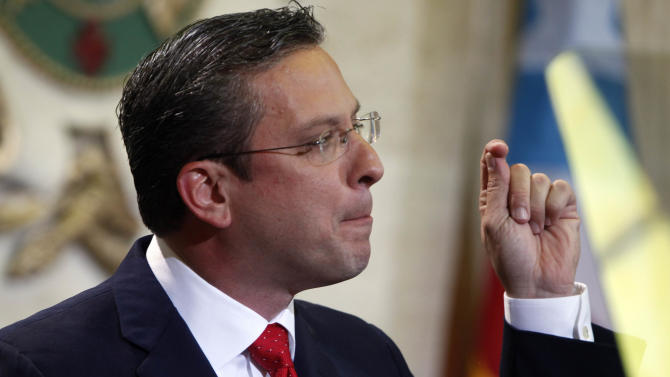 Puerto Rico leader unveils $9.8B operating budget