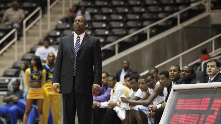 NCAA Basketball: SWAC Tournament-Southern vs Prairie View A&M