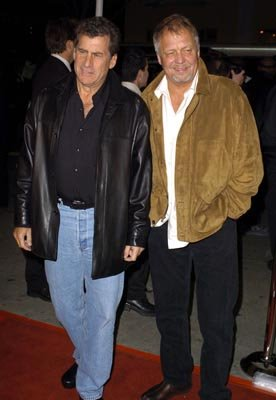 Paul Michael Glaser and David Soul at the LA premiere of Warner Bros.' Starsky & Hutch