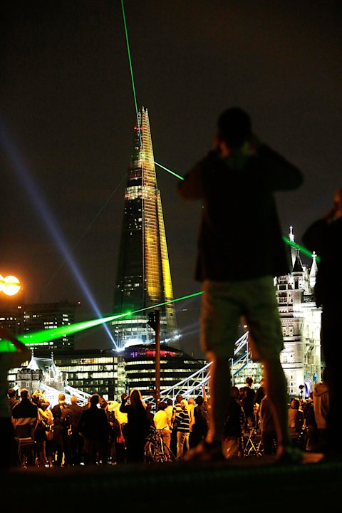 The Shard, Europe&amp;#39;s Largest Building Is Unveiled After Completion Of It&amp;#39;s Exterior