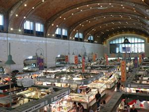 West Side Market scored one of its centennial birthday presents early. And it's a big one: kudos as one of the nation's premier food destinations.