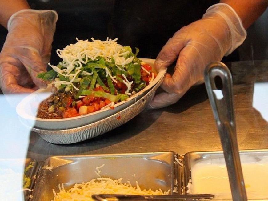 Chipotle workers are trained to give you smaller portions of these 7 ingredients