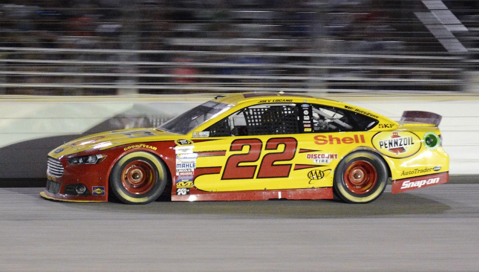 Joey Logano wins pole for Richmond