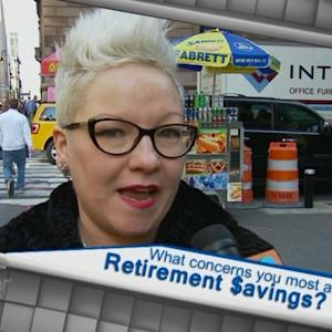 What Concerns You Most About Retirement $avings