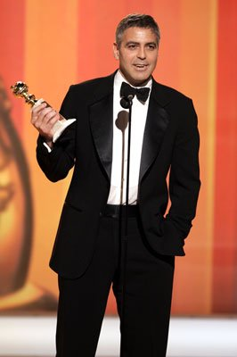 George Clooney Winner - Best Supporting Actor, Motion Picture 63rd Annual Golden Globe Awards Beverly Hills, CA - 1/16/05