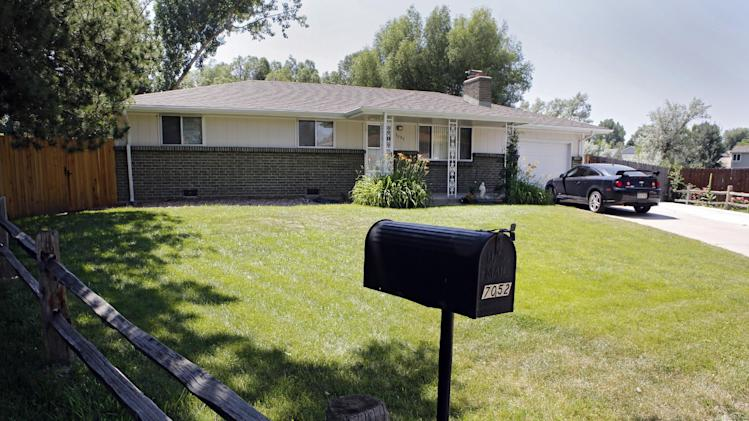 The home of Ana Maria and John Conley is pictured in Arvada, Colo., on Thursday, July 3, 2014, is where their daughter Shannon Maureen Conley, 19, lived until her arrest by the FBI in April. FBI agents tried more than once to discourage Conley, who said she was intent on waging jihad in the Middle East before arresting her in April as she boarded a flight she hoped would ultimately get her to Syria, court documents unsealed Wednesday show.(AP Photo/Ed Andrieski)
