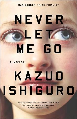 Never Let Me Go by Kazuo Ishiguro, at Borders