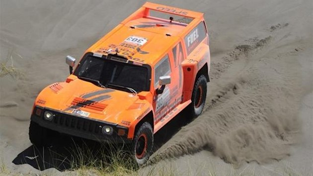 2012 Dakar Robby Gordon