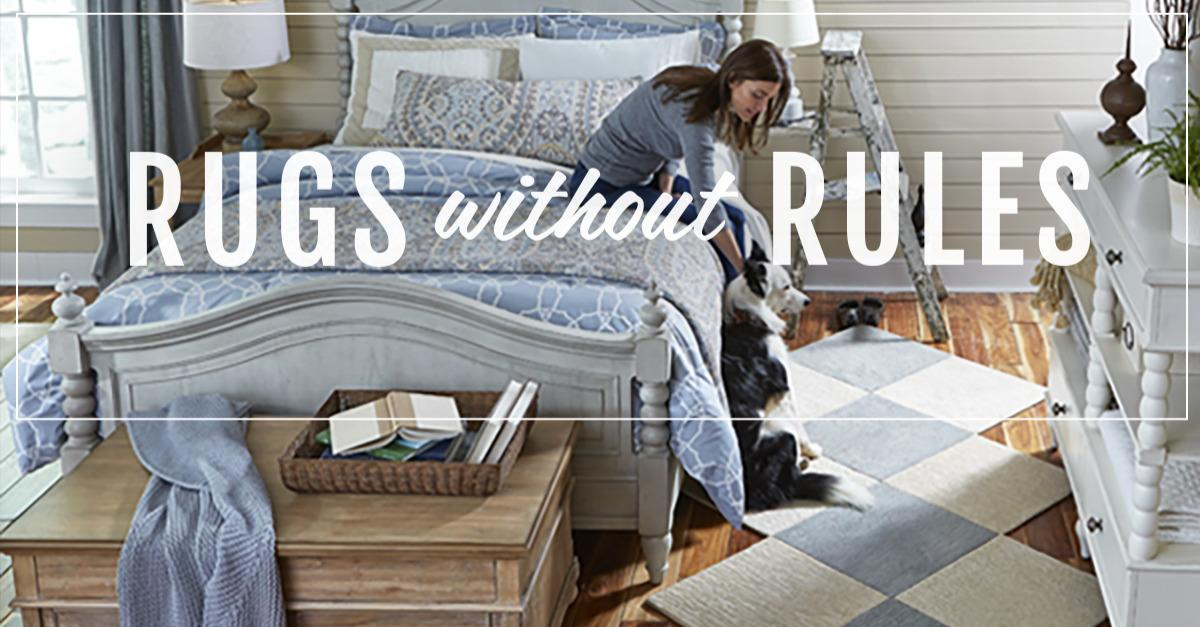 Meet the New Rug That Breaks the Rules