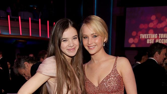 2011 Critics Choice Awards Hailee Steinfeld Jennifer Lawrence