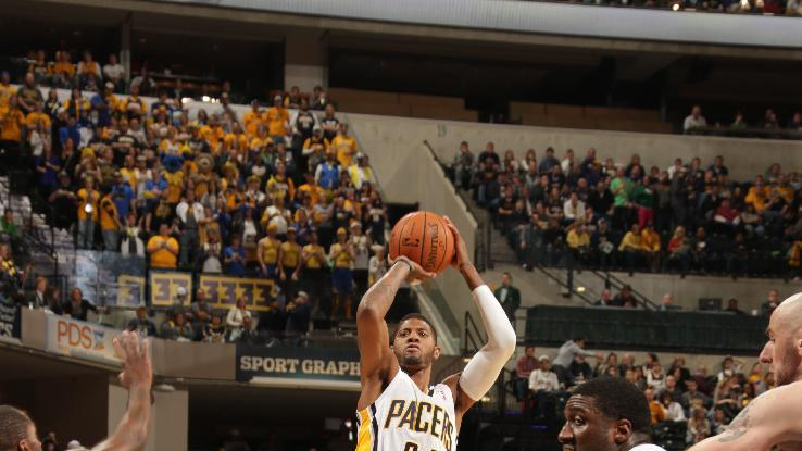George leads Pacers past Wizards 93-73