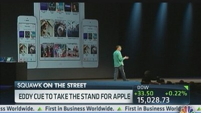 Apple Executive Takes the Stand