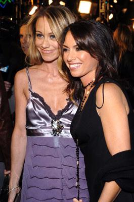 Christine Taylor and Susanna Hoffs at the Los Angeles premiere of Universal Pictures' Meet the Fockers