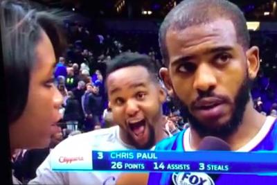 Big Baby bombs Chris Paul interview with dances and ridiculous faces