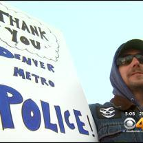 Show Of Support For Law Enforcement Draws Huge Numbers In Denver