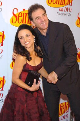 Julia Louis-Dreyfus and Michael Richards 'Seinfeld' DVD Release Party New York City - 11/17/04