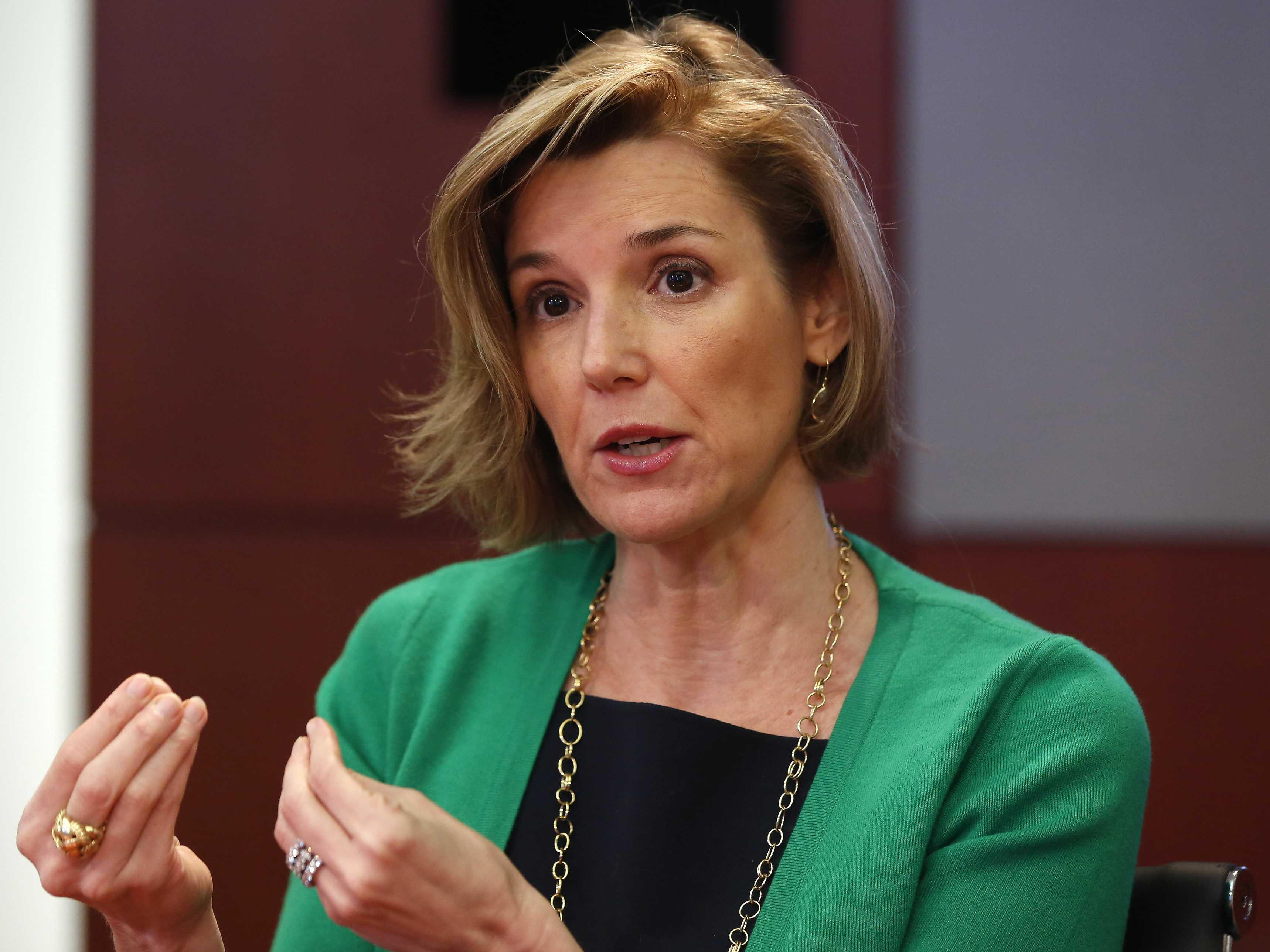 SALLIE KRAWCHECK: The economy is changing so fast that no one is safe