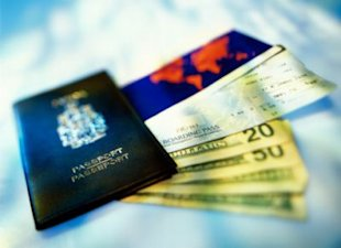 Thinkstock: What you need in your wallet when traveling overseas.