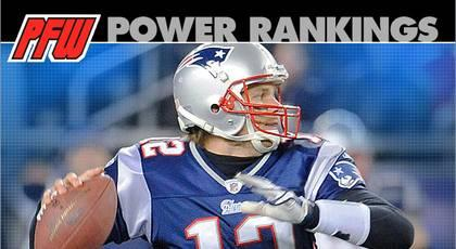 Power Rankings: Patriots slide into PFW's top spot