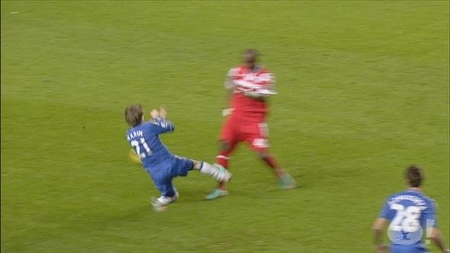 Marko Marin&#39;s horror tackle