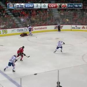 Jeff Petry Hit on Lance Bouma (03:48/2nd)