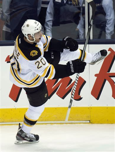Bruins bounce back to defeat Leafs 5-2