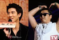Lee Hom Wang and PSY