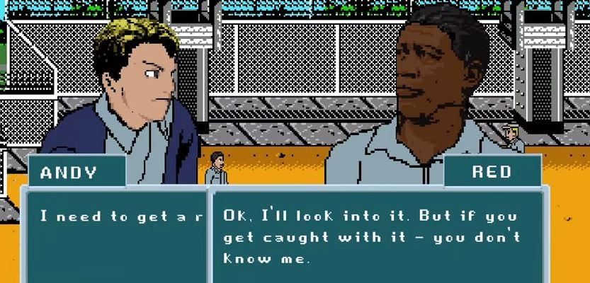 The Shawshank Redemption, If It Were an 8-Bit Video Game
