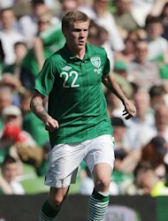 James McClean has kept his place in the Ireland squad after apologising for his foul-mouthed tweet