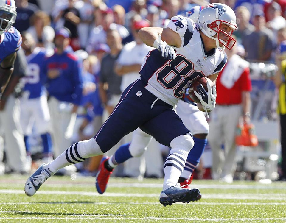 Amendola, Gronkowski inactive for Patriots