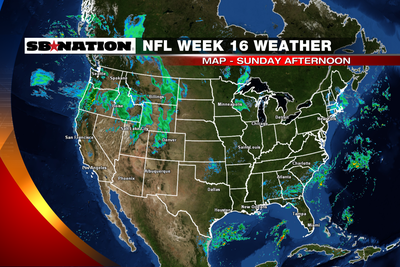 NFL weather forecast, Week 16: Pretty quiet weekend across the NFL