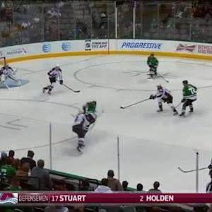 Semyon Varlamov Save on Jason Spezza (01:04/1st)