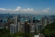 File picture of Hong Kong. Asia is fast becoming a top destination for professional people and executives who go abroad for their companies, their careers and their bank accounts, a survey has found
