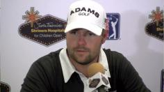 Moore news conference after Round 1 of J.T. Shriners Open